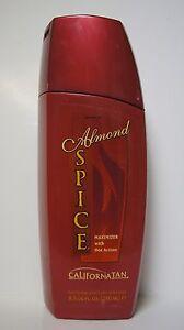 NEW California Tan Almond Spice Maximizer Level 5 Hot Action Deep Dark Tanning