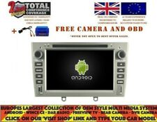 AUTORADIO DVD GPS NAVI ANDROID 9.0 DAB+ BT PEUGEOT 408 308 RCZ 2010-11 RD5634G
