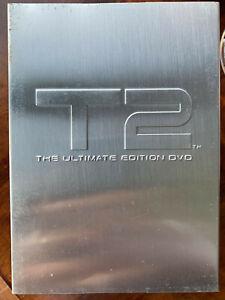 Terminator 2 Ultimate Edizione Box DVD Set W/Edizione Limitata Metallo Copertina