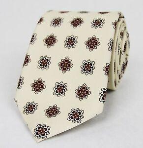 New Gucci Powered Pink Cream Floral Silk Tie w/Habutai Print 368199 6872