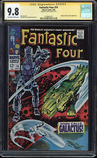 FANTASTIC FOUR #74 CGC 9.8 OWW SS STAN LEE SIGNED HIGHEST GRADED CGC #143469101