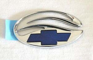 1998- 2005 CHEVROLET MALIBU REAR EMBLEM BLUE BOWTIE NO FACTORY BAG - 22690030