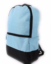 CLASSIC UNIVERSAL BACKPACK RUCKSACK TRAVEL SCHOOL BAG CASE LIGHT BLUE GYM SPORT