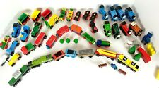 Wooden Magnetic Train Lot of 52 pieces Thomas Brio Circus Trees Railway