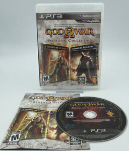 God of War: Origins Collection PS3 Sony PlayStation 3, 2011 CIB