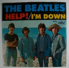 Beatles. the Help 45 Capitol Picture Sleeve