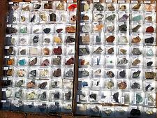 Collezione 120 minerali Utilizzabili in Cristalloterapia