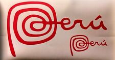 MARCA PERU  Sticker Decal + Bonus !!! watch !