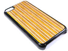 IPhone 5c caso hecha de madera reciclada Patineta nuevo teléfono caso ajuste de goma