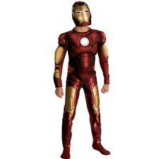 Avengers Iron Man Muscle Costume New Size 4-6 Marvel
