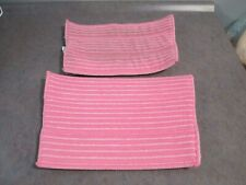 2 Haan brand pink Ultra-Microfiber pads-1 used/1new-FREE SHIPPING