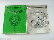 Campagnolo Gran Sport crankset 170mm 52 42 chainrings vintage Road Bicycle NOS