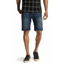 Levi's 505 para Hombre Pantalones Cortos Algodón Premium Regular Fit VAQUERO OSCURO Stonewash 34505