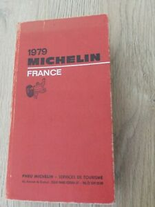 Guide Michelin France  1979