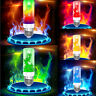 4 Modes E27 LED Flame Effect Fire Light Bulb Flickering Lamp House Room Decor