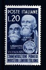 ITALIA REP. - 1950 - In onore dei Pionieri dell'Industria Laniera Italiana - 20L