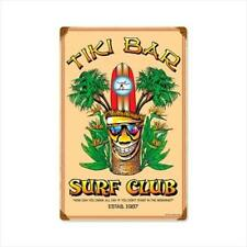 Past Time Signs Berg014 Tiki Bar And Alcohol Vintage Metal Sign