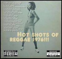 HOT SHOTS OF REGGAE 1976 REVIVAL MIX CD