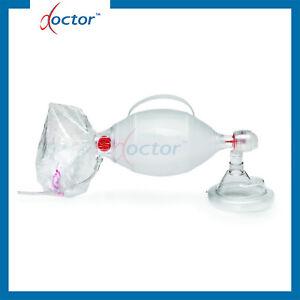 Pallone Ambu per rianimazione con maschera e reservoir SPUR II kit pediatrico