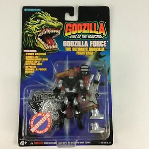 Godzilla King Of The Monsters Force Fighter Colonel Richards Figure Vintage 1994