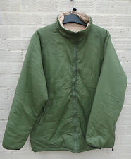 British Army Softie Jacket Thermal Reversible Fishing Warm Stuff Sack Used Olive