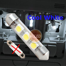 12V 36mm LED Festoon Bulb Courtesy/Vehicle/Dome/Trailer Replace Light Cool White