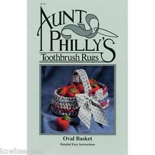 AP106, Aunt Philly's basket pattern toothbrush using fabric strips