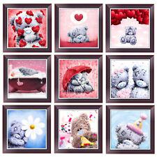 DIY 5D Love Heart Bear Diamond Painting Embroidery Cross Stitch Home Decor Craft