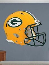 """GREEN BAY PACKERS Helmet Fathead/Poster 19.5"""" x 16"""" WALL DECAL"""