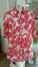 Gordon Smith petites blouse.Sz8.Large relaxed fit.As new condition