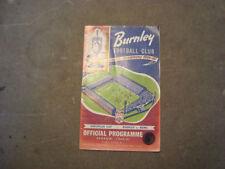 Burnley Away Team Football European Club Fixtures