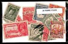 Terre Neuve - Newfoundland 25 timbres différents