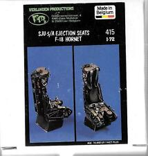 Verlinden Resin SJU-5A Ejection Seats, For F/A-18 Hornet in 1/72 415 ST