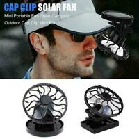 Portable Mini Solar Powered Clip Fan Mini Clip Fan Mountain DC Mini Fan P7I I6A2