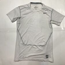 Men's Nike PRO COMBAT Dri-Fit Compression Black Workout, Gym Shirt XL