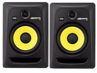 "PAIR KRK Rokit 8 G3 Active Studio Monitors Powered Speakers Recording 8"" 100W"