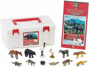 Japanese Animals PVC Figure Set 12 pcs In Box Colorata Japan