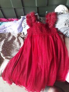 Chasing Fireflies Luna Luna Copenhagen Ruby Red Fairy Dust Dress 6x