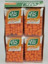 Tic Tac Orange Flavored Mints 1 Ounce (Pack of 12) Retail Box Candy TicTacs