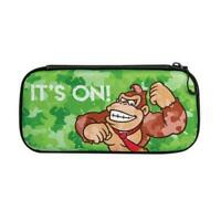 Donkey Kong Camo Slim Travel Case for Nintendo Switch new authentic ship fast