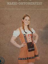 Kostüm Kleid Dirndl Oktoberfest Karneval Damen L/XL