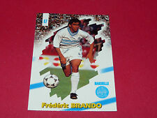 PANINI FOOTBALL CARD 98 1997-1998 FREDERIC BRANDO OLYMPIQUE MARSEILLE OM