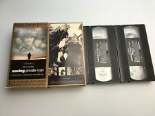 Saving Private Ryan (Vhs, 2-Tape Set, Special Limited Edition); Preowned