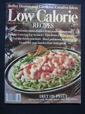 Low Calorie Recipes Better Homes and Gardens Creative Ideas Spring 1985