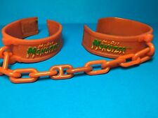 Vintage Amtoy My Pet Monster Handcuffs Chained Cuffs 1985 American Greetings