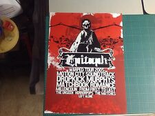 24x17 Epitaph Records Promo Poster cd music offspring vintage music