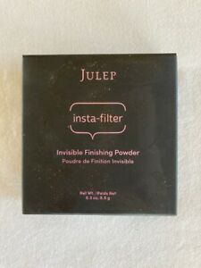 New in Box Julep Insta Filter Invisible Finishing Powder Full Size .3 Oz Make Up