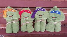 Hooded Towels TMNT Ninja Children Kids Beach Bath Super Heroes Cartoon