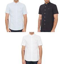Farah Men's Slim No Pattern Casual Shirts & Tops