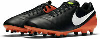 Nike Mens Tiempo Genio II Leather FG Football Boots 819213 018 RRP £60 (M9)